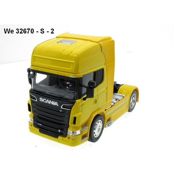 Welly Scania V8 R730 4x2 yellow