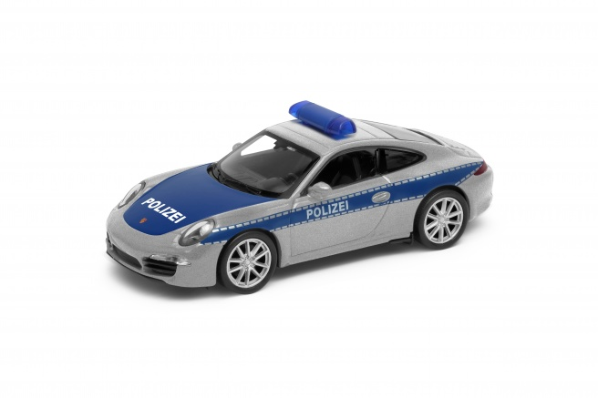 Welly Porsche 911 Carrera S Polizei 1:34