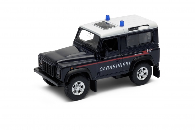 Welly Land Rover Defender Carabinieri 1:34