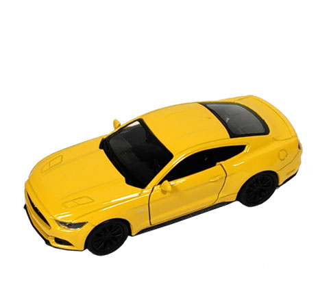 Welly Ford Mustang GT 1:34 Yellow