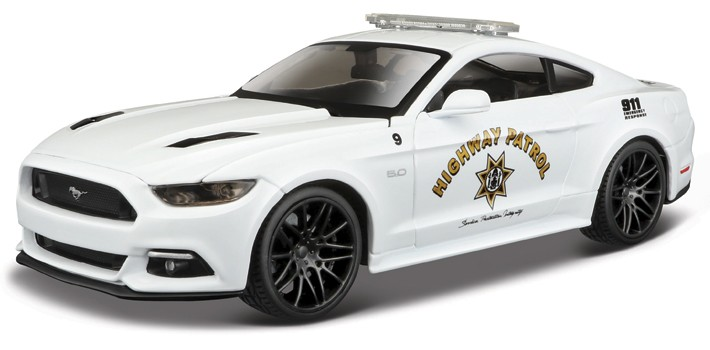 2015 Ford Mustang GT Police 1:24