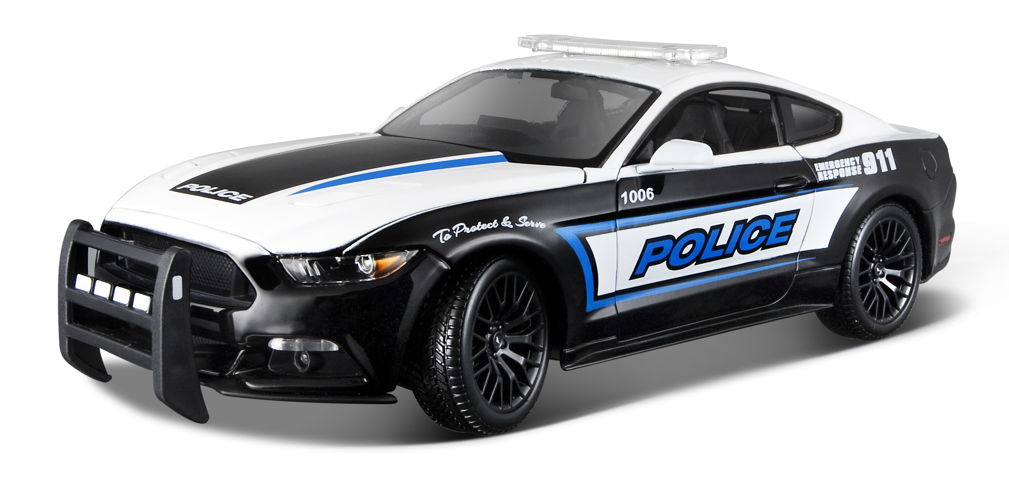 2015 Ford Mustang GT Police 1:18
