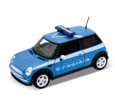 Welly Mini Cooper Polizia 1:24