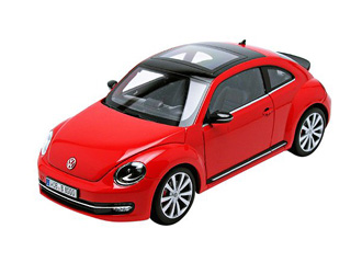 Welly VW 2012 New Beetle 1:24 Red