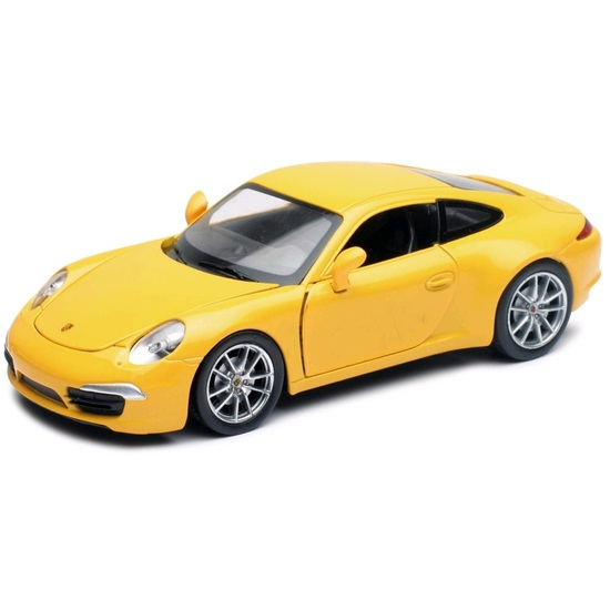 Welly Porsche 911 Carrera S 1:24 Yellow