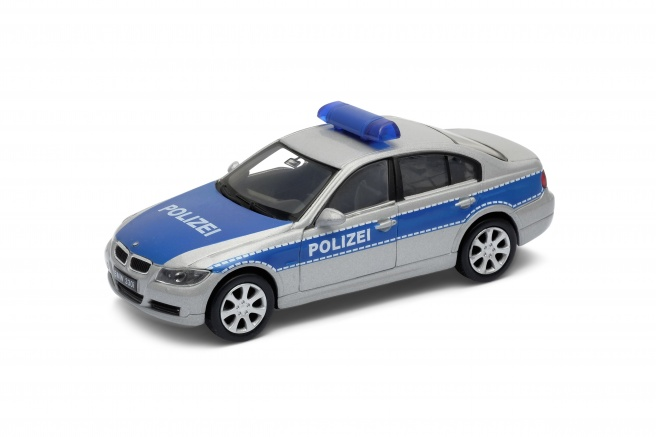 Welly BMW 330i Polizei 1:34
