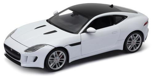 Welly Jaguar F-Type Coupe 1:24 White