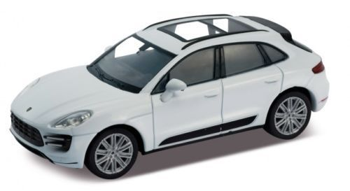 Welly Porsche Macan Turbo 1:24 white