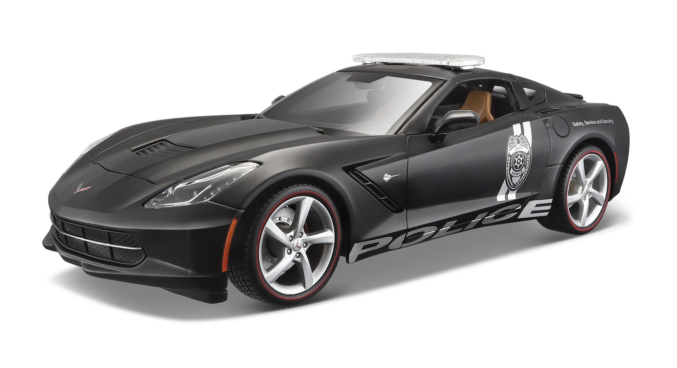 2014 Corvette Stingray Police 1:18