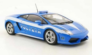 Welly Lamborghini Gallardo LP560-4 police 1:34