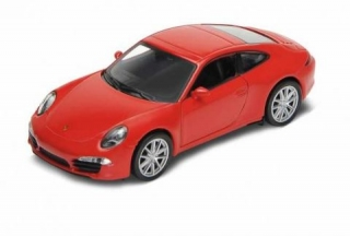 Welly Porsche 911 (991) Carrera S Coupe 1:34 červené