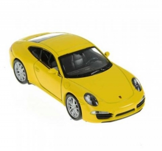Welly Porsche 911 (991) Carrera S Coupe 1:34 žlté