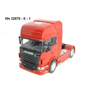 Welly Scania V8 R730 4x2 red