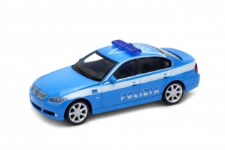 Welly BMW 330 Polizia 1:24