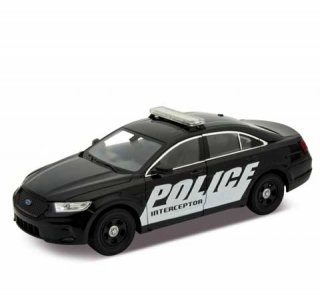 Welly Ford Policie Interceptor 1:24