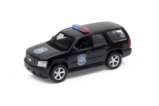 Welly Chevrolet Tahoe 08 Police 1:34 Black