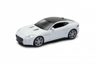 Welly Jaguar F-Type Coupe White 1:34